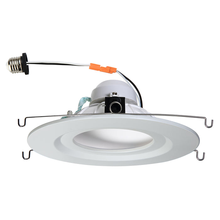 Patented 5 inch and 6 inch led recessed light trim with e26 patented 5 inch and 6 inch led recessed light trim with e26 connector aloadofball Choice Image