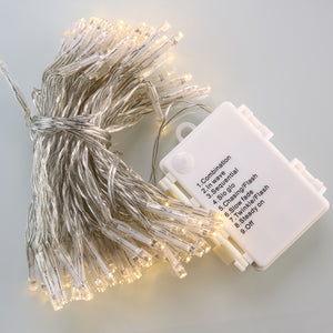 "Battery-Powered 5mm ""Mini Bulb"" LED String Lights"