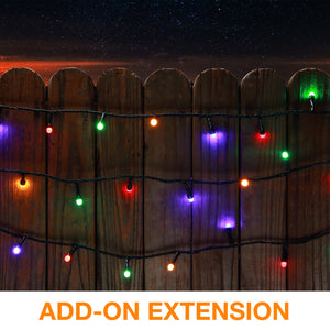 8mm Mini Globe LED Lights Add-on Extension