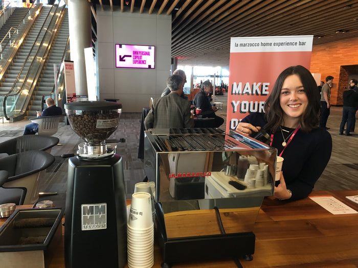 Making Coffee at TED Vancouver