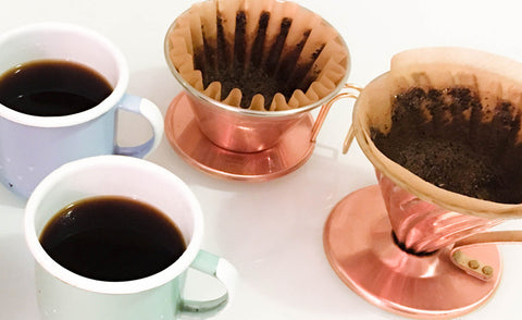 Kalita Copper Wave VS Hario Copper V60