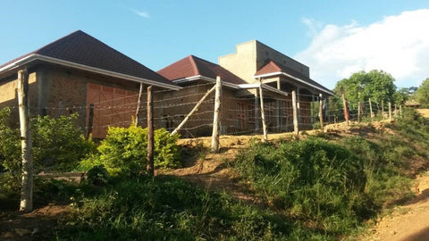 A storage facility built by NAI with the financial support of TCC in Uganda