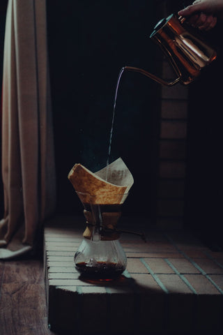 Photo of Fellow Stagg Pour-Over Kettle and Chemex Classic