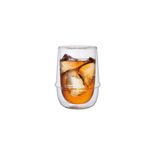 KINTO KRONOS Double Wall Iced Tea Glass 350ml