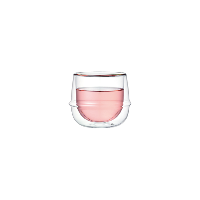 KINTO KRONOS Double Wall Wine Glass 250ml