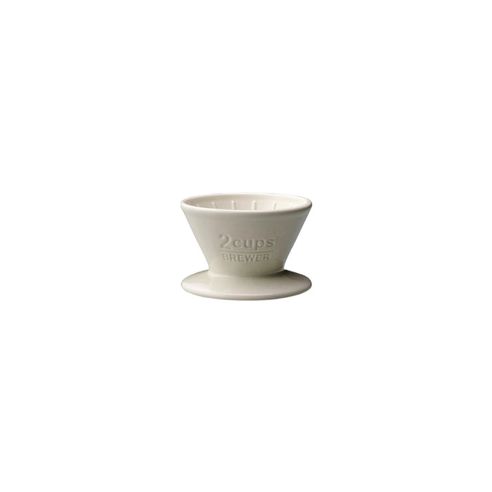 KINTO SLOW COFFEE STYLE Porcelain Brewer 2-Cup