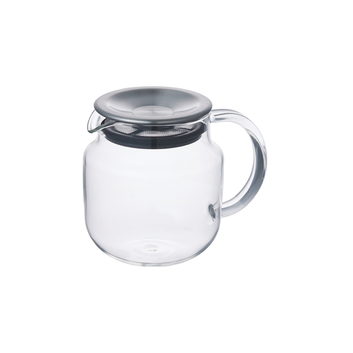 KINTO ONE TOUCH Teapot 620ml Stainless Steel