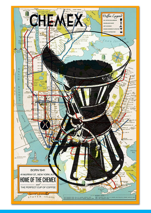 Home of the Chemex Poster