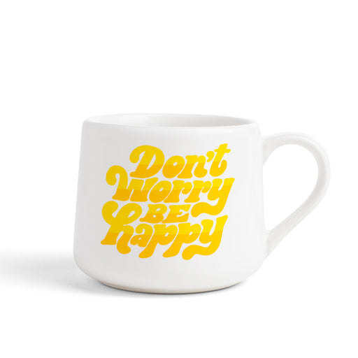 Created Co. Don't Worry Be Happy Crescent Mug