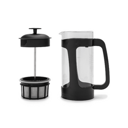 Espro Press P3-32oz Glass and Black Plastic