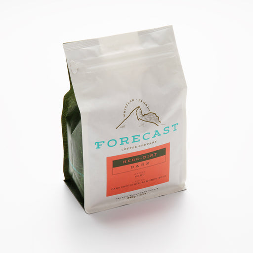 Forecast Coffee Hero-Dirt Dark Roast: Peru