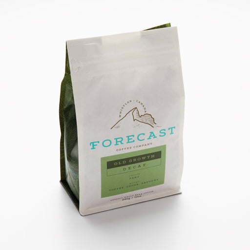 Forecast Coffee Old Growth Decaf: Peru