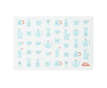 Kalita Brew Gear Place Mat - Blue