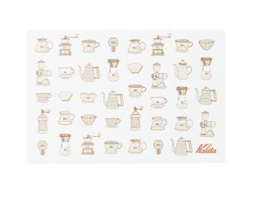Kalita Brew Gear Place Mat - Brown