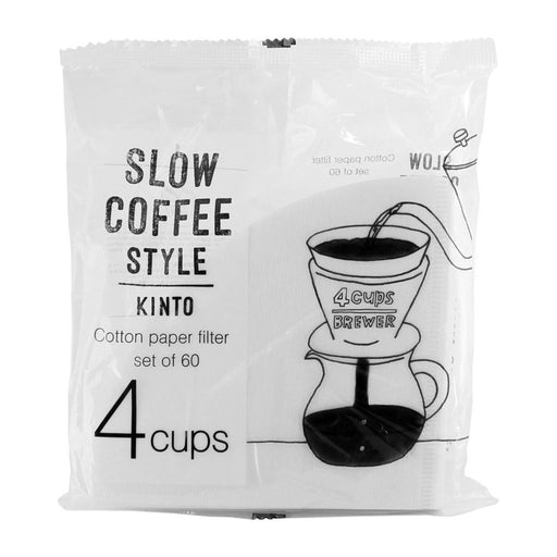 KINTO SLOW COFFEE STYLE Cotton Paper Filter 4 Cup
