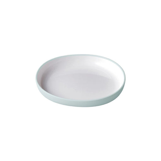 KINTO BONBO Child's Plate Blue Grey