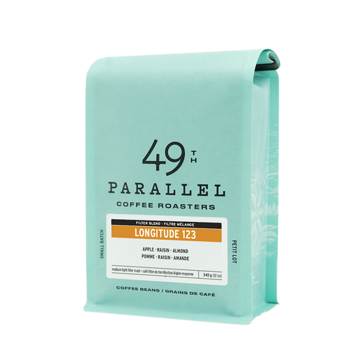 49th Parallel Coffee Roasters 123°W Longitude Blend