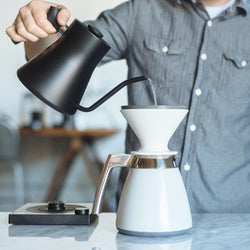 Manual Pour-Over with Ratio Dripper and Thermal Carafe