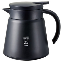 Hario V60-03 Insulated Stainless Steel Server Black