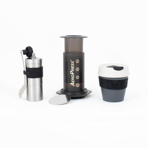 The Perfect Travel Coffee Kit