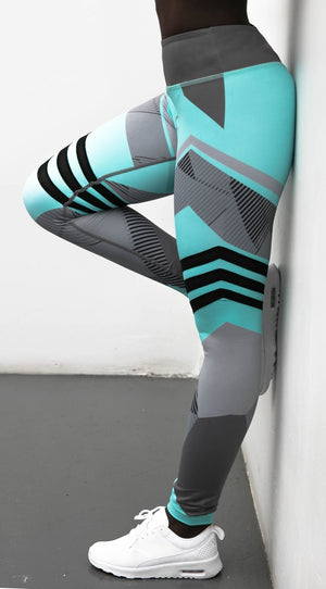 Acubens Patchwork Active Leggings - Activa Star