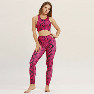 ASASE Active Sport Top + Leggings - 2 Piece Set