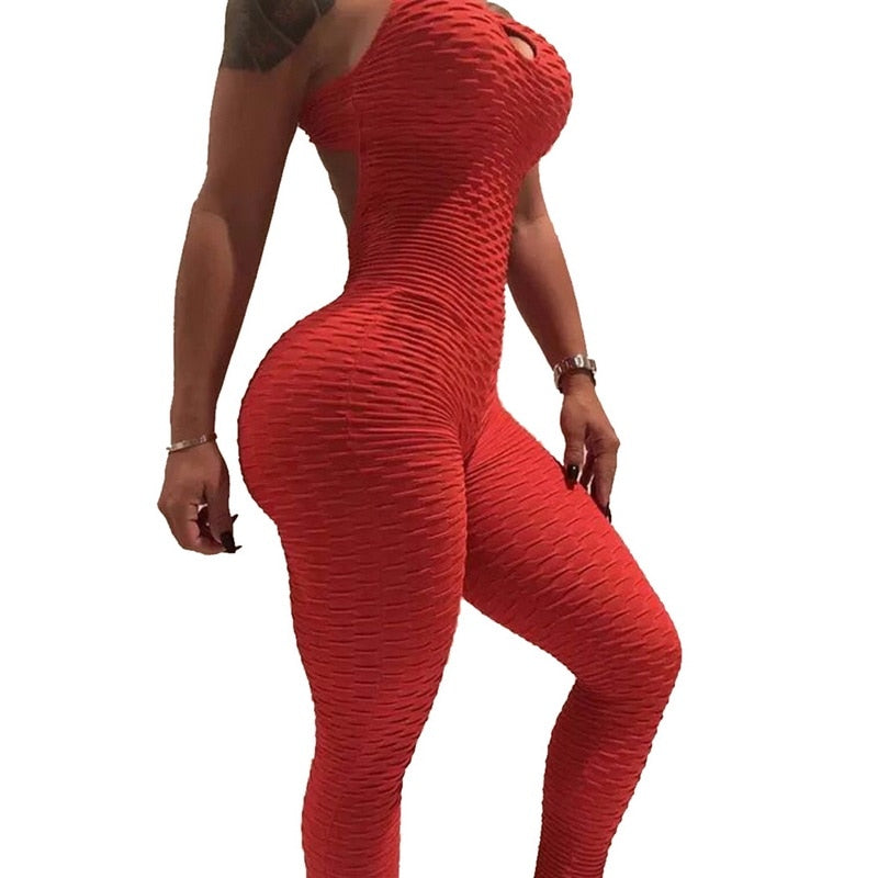 One Piece Yoga Fitness Jumpsuit