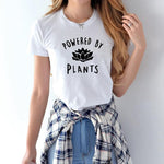 Vegan POWERED BY PLANTS Casual Tee Shirt for Women