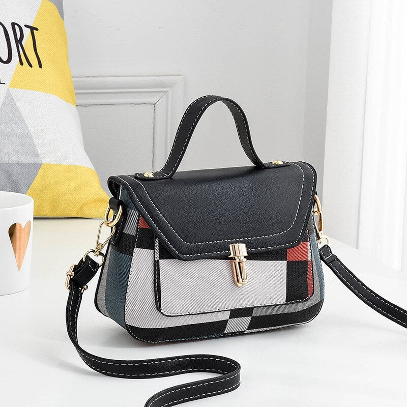 Women Message Handbag Fashion Top-Handle Shoulder Bags Small Casual Body Bag Totes Famous Brands Designer High Quality