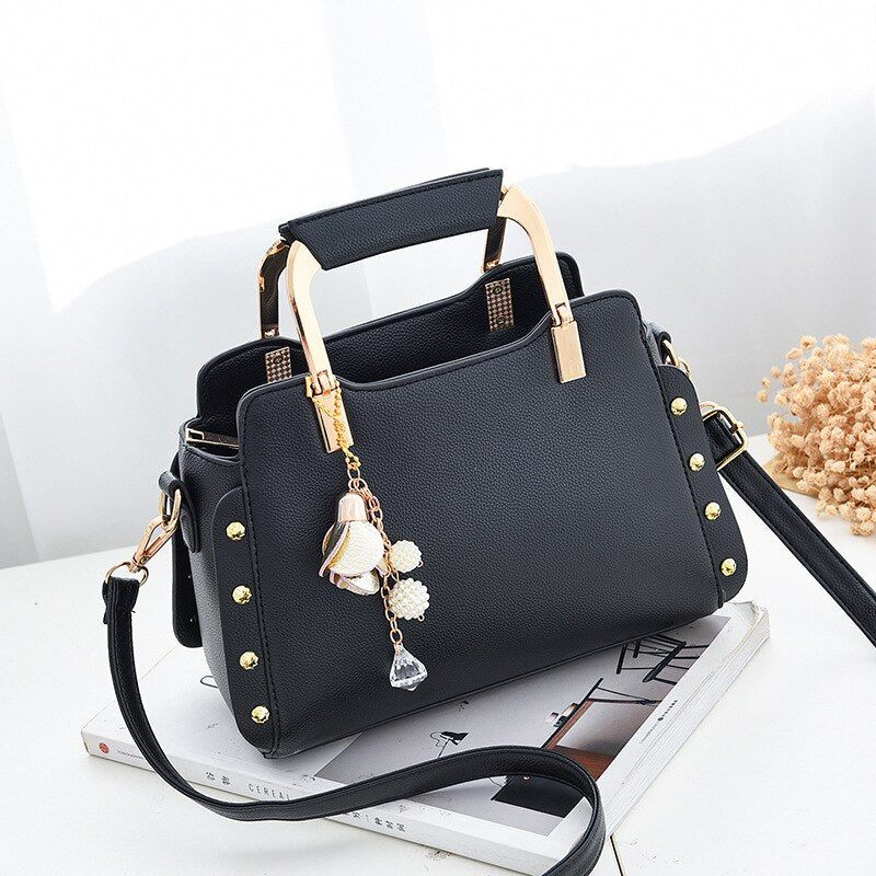 women bag women's handbags Luxury ladies' leather handbag Messenger Bag Designer new bags for women 2019 and Korean Style tassel