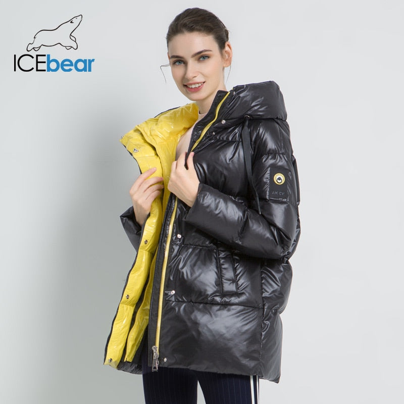 High Quality Women Hooded Coat Jacket