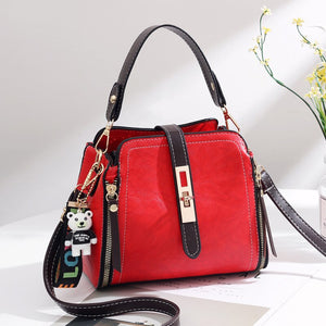 Women Bag Designer New Fashion Casual Messenger Bag Luxury shoulder bag quality PU Brand Sweet Lady Small package Korean Style
