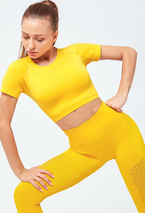 Idara Top + Leggings Sports Set