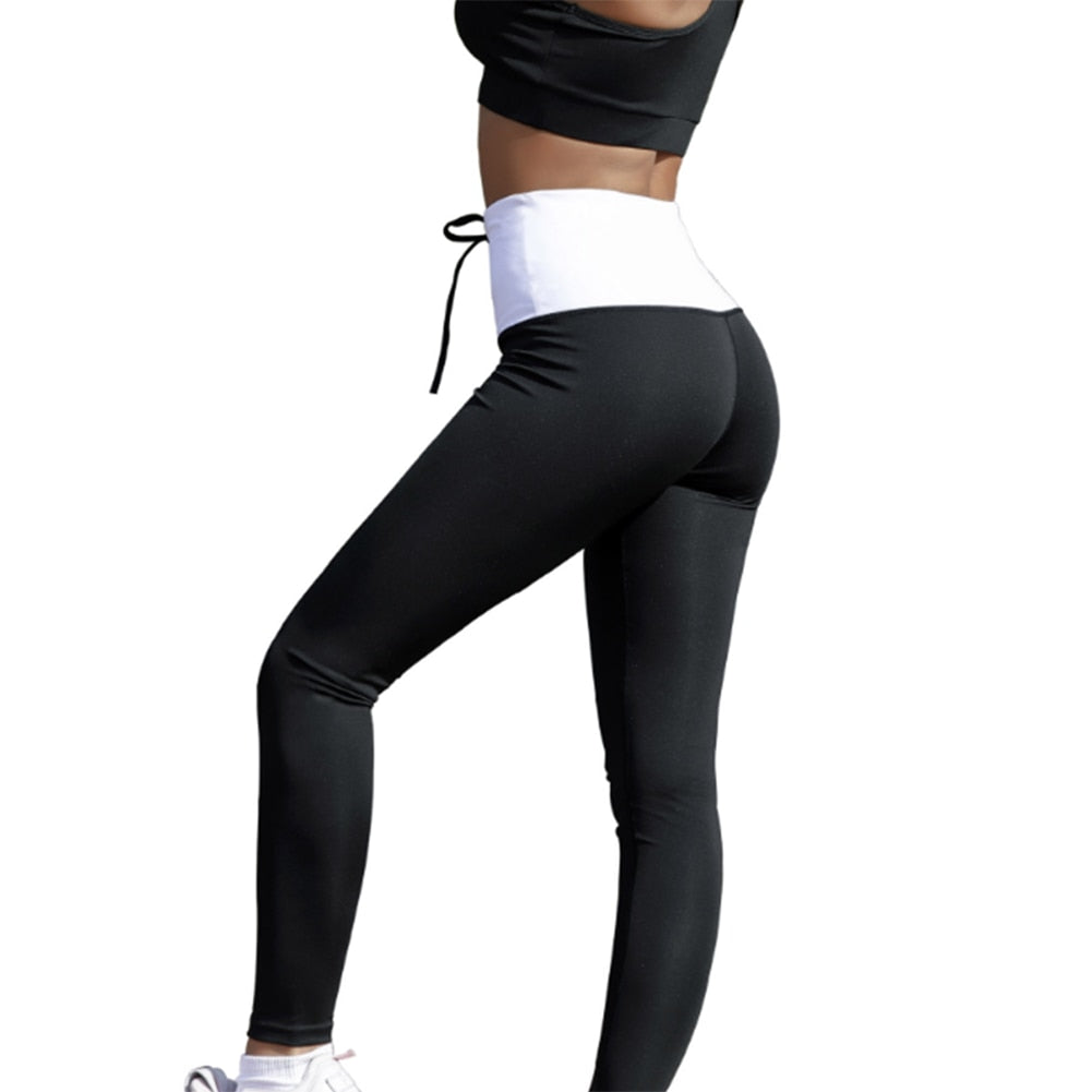 Yoga Pants Set Drawstring Top + Leggings 2pc Sport Yoga Set - Activa Star