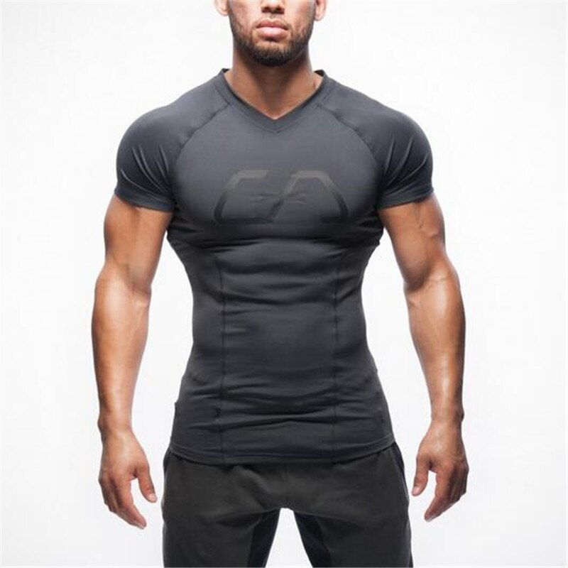 GYMs Stringer T shirt Men Gyms Bodybuilding and Fitness