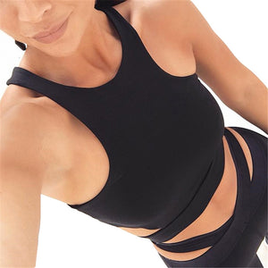 Fitness Crop Top H-Shaped Bar - Activa Star