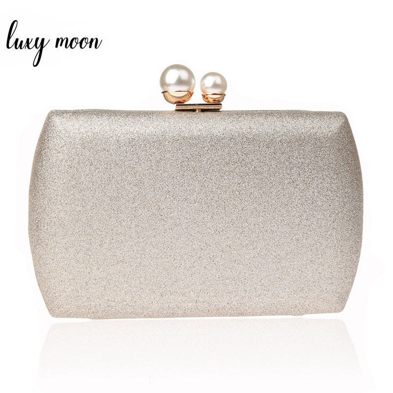 Women Clutch Bags Simple Design Lady Pearl Evening Bag Day Clutches Banquet Wedding Party Purse Elegant Handbags ZD1067
