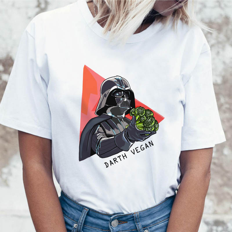 vegan t shirt female funny korean ulzzang tees graphic women harajuku clothing t-shirt for top tshirt