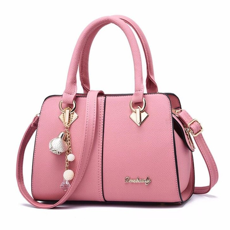 FGJLLOGJGSO 2019 New luxury Metal letters soft bag sac Lady shoulder handbag brand women bag designer crossbody bags female tote