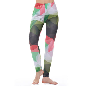 High Waist Colorful Leggings - Activa Star