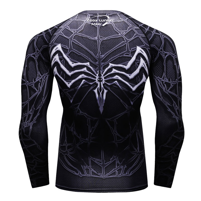 VIP Guillermo Compression Shirt Raglan Long Sleeve 3D Print Men T shirts Fitness Male Cross fit Tops Sportswear CODYLUNDIN