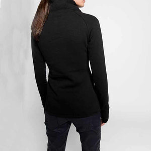 ALBINA SIDE ZIPPER PULLOVER SWEATSHIRT