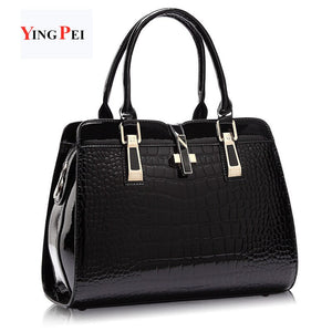women bag Fashion Casual women's handbags Luxury handbag Designer Messenger bag Shoulder bags new bags for women 2019  Crocodile