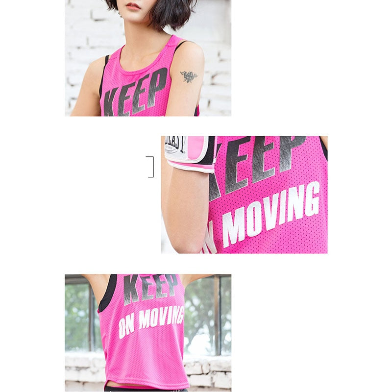 Keep On Moving Fitness Tank Top