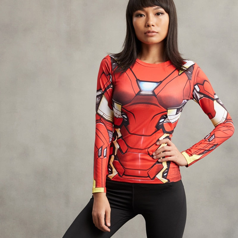 Iron Man Fitness Top