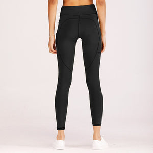 7b16604a867 New Running Pants Tights Tummy Control Workout Running Stretch Yoga Pa