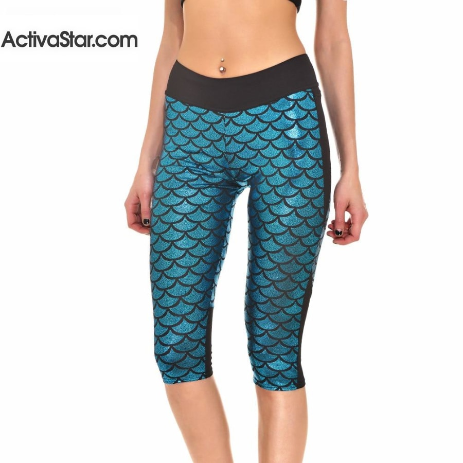 Idara Active Sport Capri Leggings