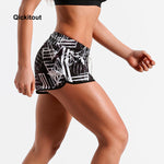 Fitness Fashion Ladies Shorts XS-XL