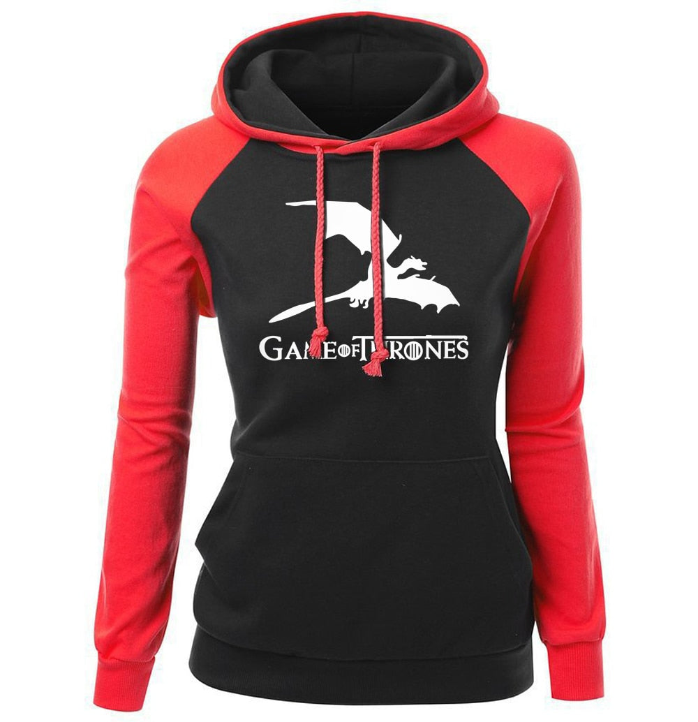 GAME OF THRONES Fleece Raglan Hoodie