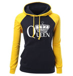 QUEEN CROWN Women's Raglan Hoodie
